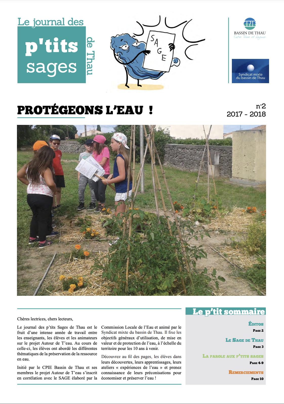 Journal des petits SAGE 2017-2018